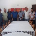 Kıbrıs Barış Konseyi BKP'yi ziyaret etti.